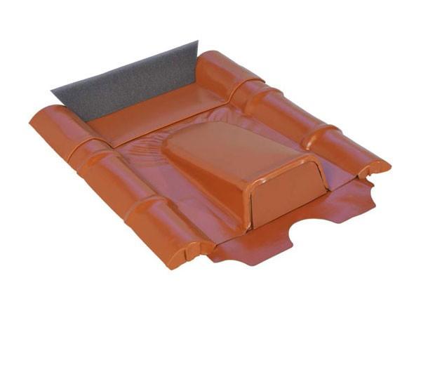 Marzari PV Kabeldurchführung Beton schwarz-grau