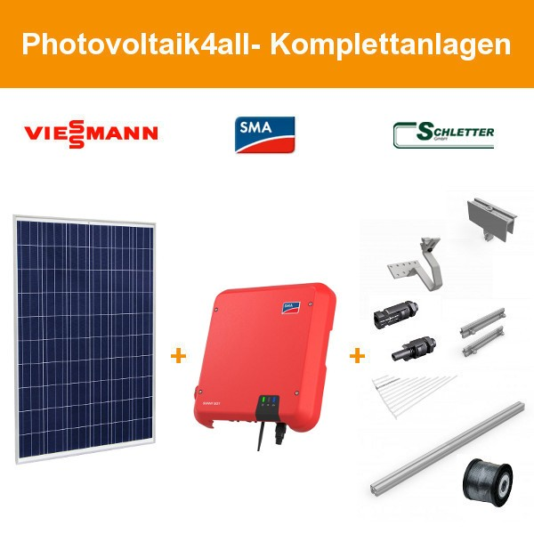 3 kWp Viessmann Photovoltaikanlage