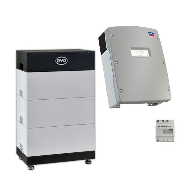 BYD Battery-Box L 10.5 + SMA Sunny Island Speicher-Set
