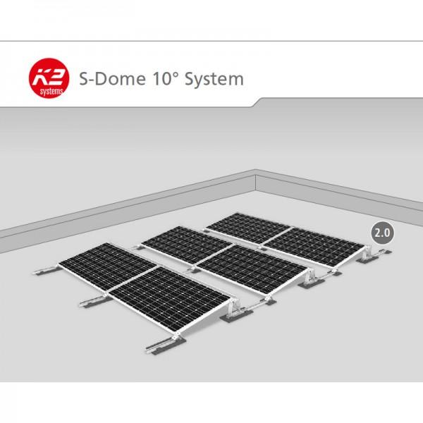 pv anlage unter 10 kwp f r das flachdach i photovoltaik4all. Black Bedroom Furniture Sets. Home Design Ideas
