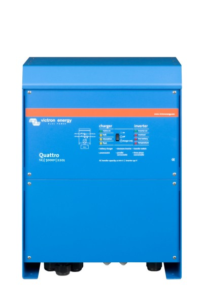 Victron Quattro 12/5000/220-100/100 - 230V Inverter/Charger