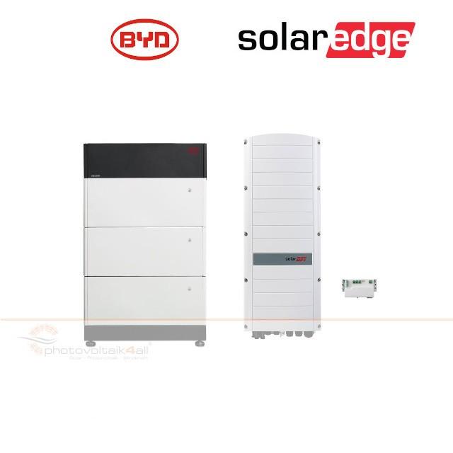 BYD B-BOX PREMIUM LVS 12.0 (12 kWh) + SolarEdge RWS Hybrid 48V