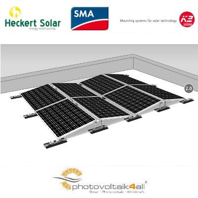 Photovoltaik Komplettanlage K2 D-Dome