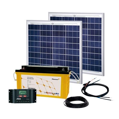Phaesun Energy Generation Kit Solar Rise Two 2.0 100W/12V