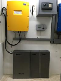 PV-Anlage mit LG Chem RESU 64EX