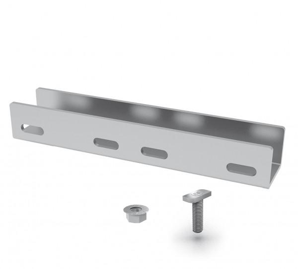 K2 Systems Schienenverbinder Set für K2 SingleRail 36