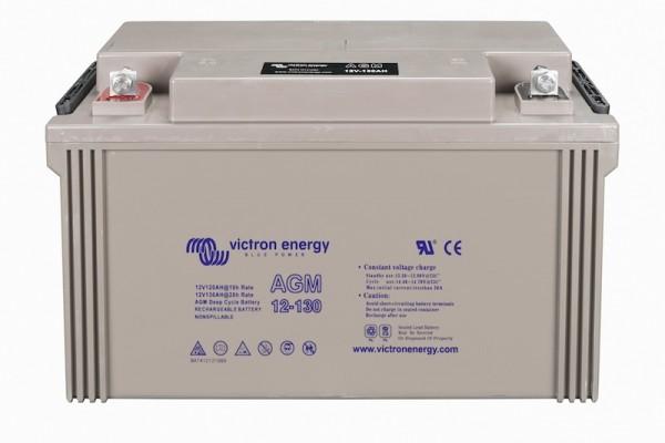 Victron AGM Batterie 12V / 130Ah Deep Cycle