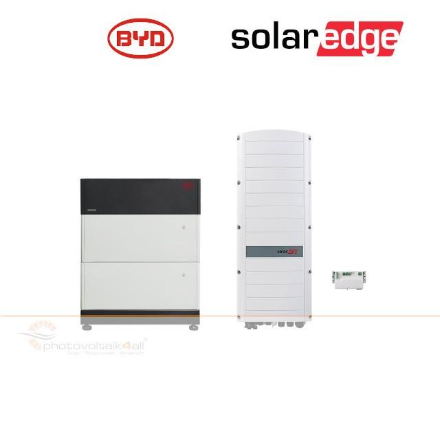 BYD B-BOX PREMIUM LVS 8.0 (8 kWh) + SolarEdge RWS Hybrid 48V