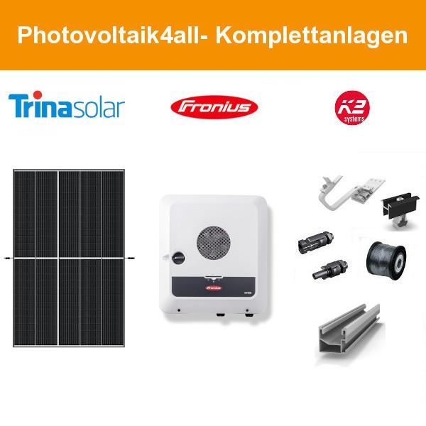 7 kWp PV-Anlage Trina Vertex S + Fronius GEN24