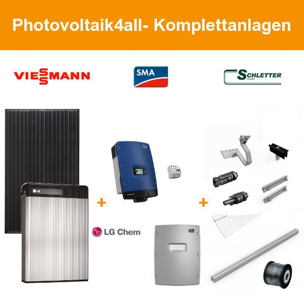 9 9 kwp viessmann pv anlage 10 kwh lg chem resu speicher. Black Bedroom Furniture Sets. Home Design Ideas