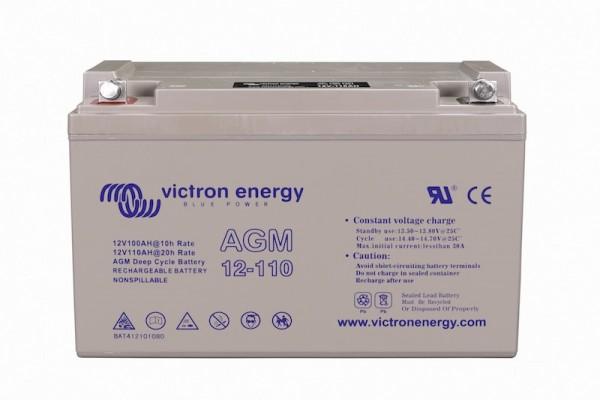 Victron AGM Batterie 12V / 110Ah Deep Cycle - 330x171x220 mm