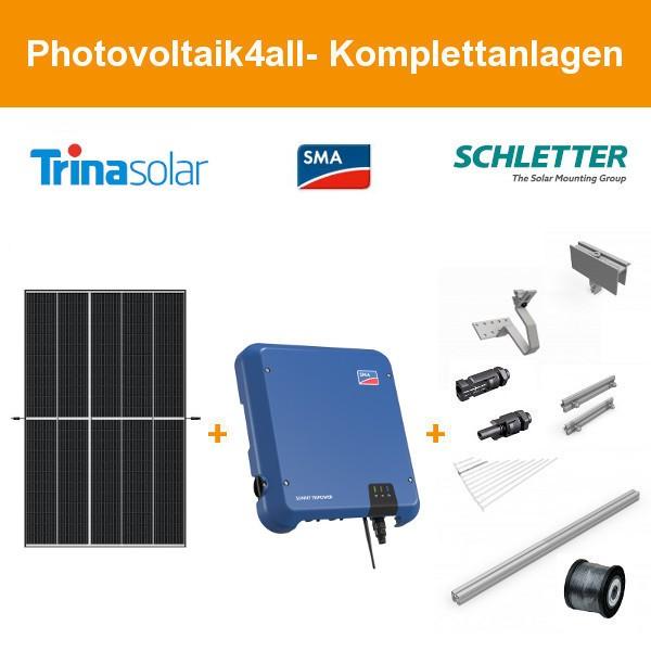 6 kWp Trina Vertex S 405 Wp + SMA Photovoltaikanlage