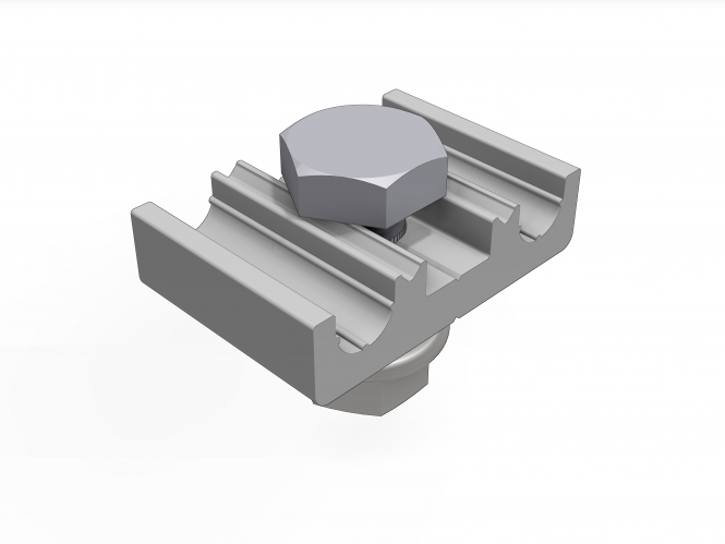 schletter blitzschutzklemme f r 8 mm schletter satteldach montagesysteme. Black Bedroom Furniture Sets. Home Design Ideas