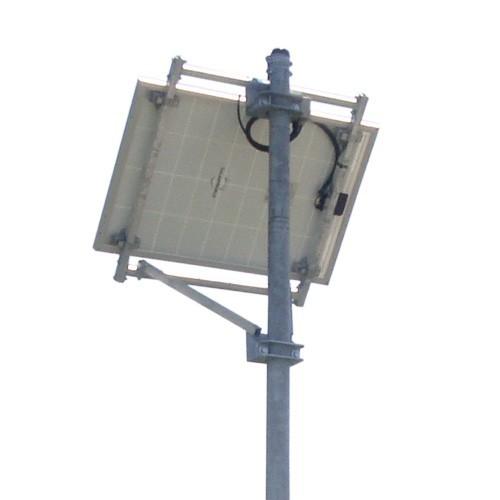Montagesystem füŸr 1 Solarmodul Mastmontage 55 Grad