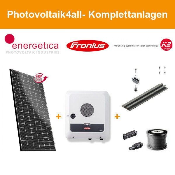 6,750 kWp Energetica e.Classic M HC 375 - Photovoltaikanlage auf Trapezblech