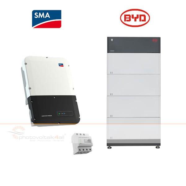 BYD B-BOX PREMIUM HVM 11.0 + SMA Sunny Boy Storage 3.7