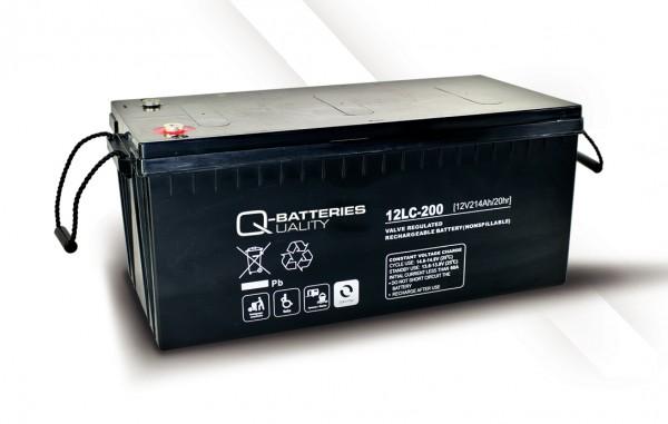 Q-Batteries 12LC-200 / 12V - 214Ah AGM Akku