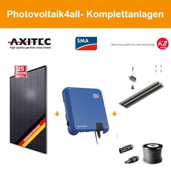 10,200 kWp Axitec mono 340 Wp - Photovoltaikanlage auf Trapezblech