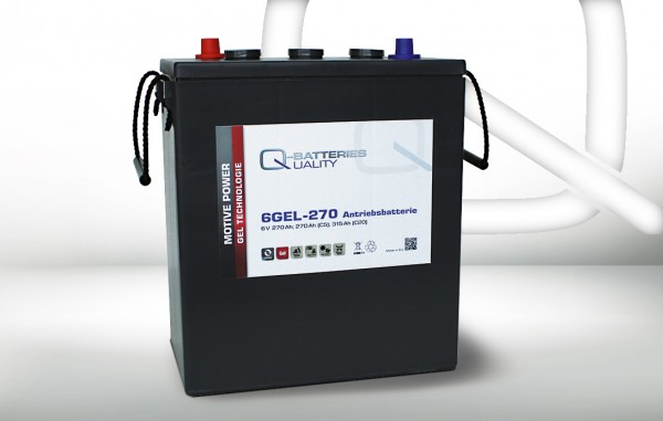Q-Batteries 6GEL-270 / 6V - 270Ah Gel Akku