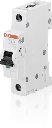 ABB Sicherungsautomat 6A B 1p S201-B6
