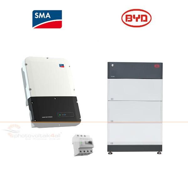 BYD B-BOX PREMIUM HVM 8.3 + SMA Sunny Boy Storage 3.7