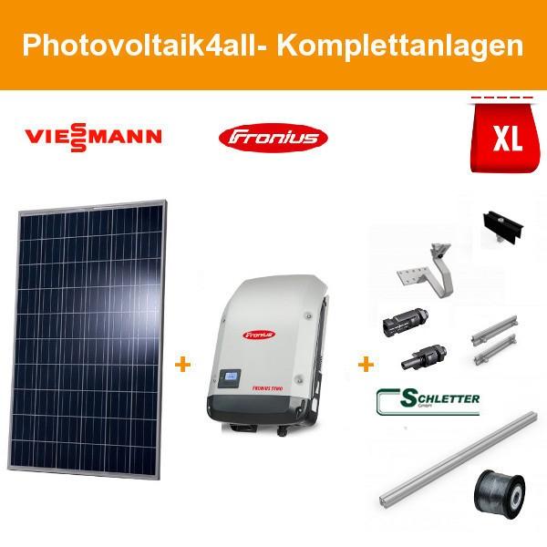 Solarpaket XL - 6 kWp Viessmann Photovoltaikanlage