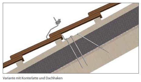 Schletter Dachhaken für Aufsparrendämmung