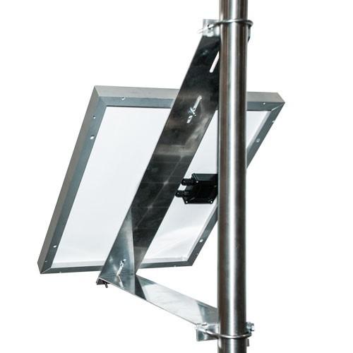 Mastmontage-Kit Phaesun 640 für ein Solarmodul