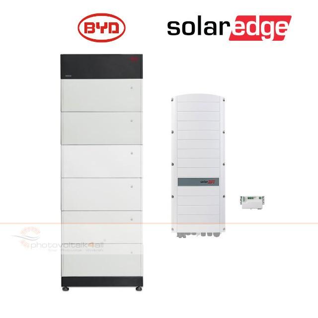BYD B-BOX PREMIUM LVS 24.0 (24 kWh) + SolarEdge RWS Hybrid 48V