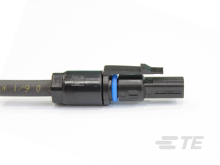 TE Solarlok Slim Line Stecker Minus (Blau)