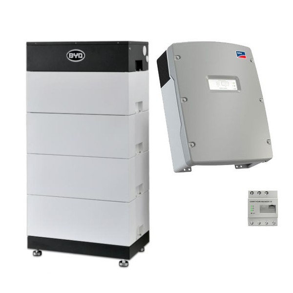 BYD Battery-Box L 14.0 + SMA Sunny Island Speicher-Set