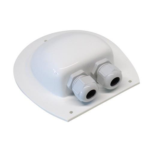 Kabeldurchführung für Wohnmobil weiß