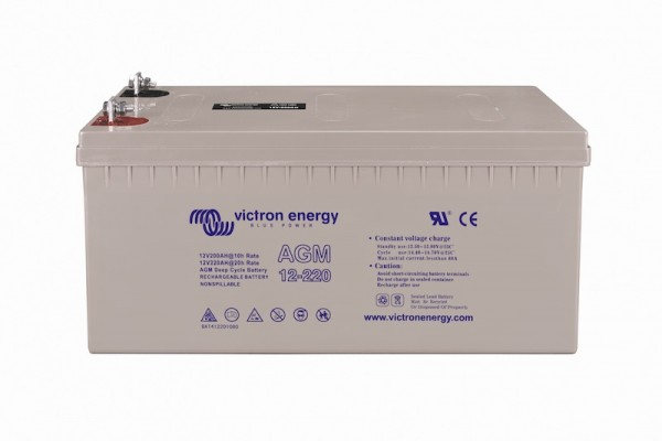 Victron AGM Batterie 12V / 220Ah Deep Cycle