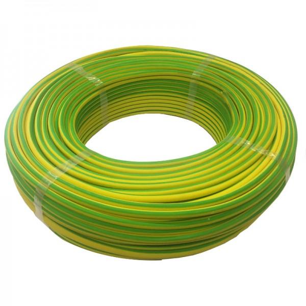 HELUKABEL HELUTHERM 145 1x16 qmm grün gelb - 100m