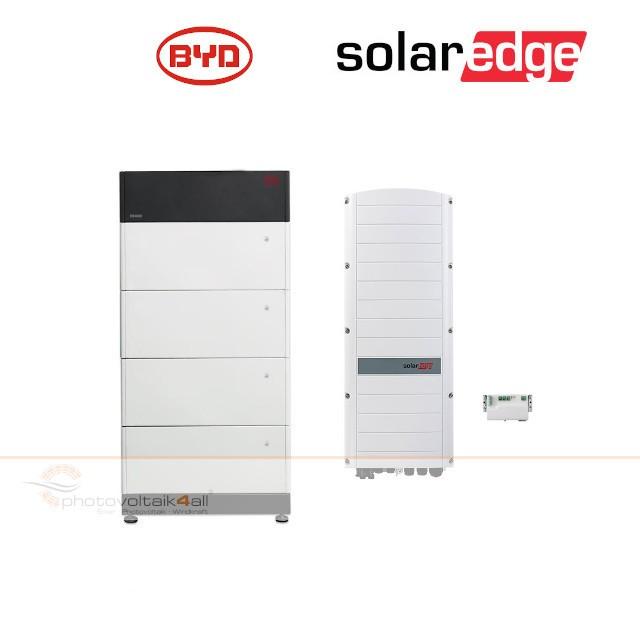 BYD B-BOX PREMIUM LVS 16.0 (16 kWh) + SolarEdge RWS Hybrid 48V