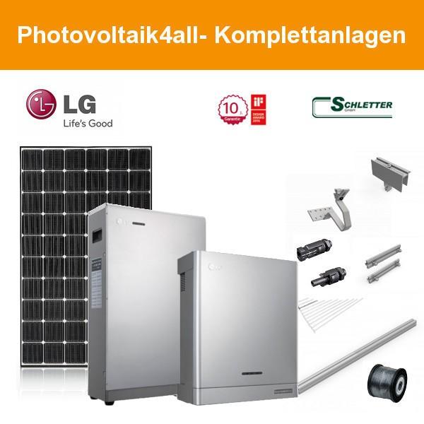 6,360 kWp PV LG350N1C-V5 NeON 2 und LG ESS Home 5