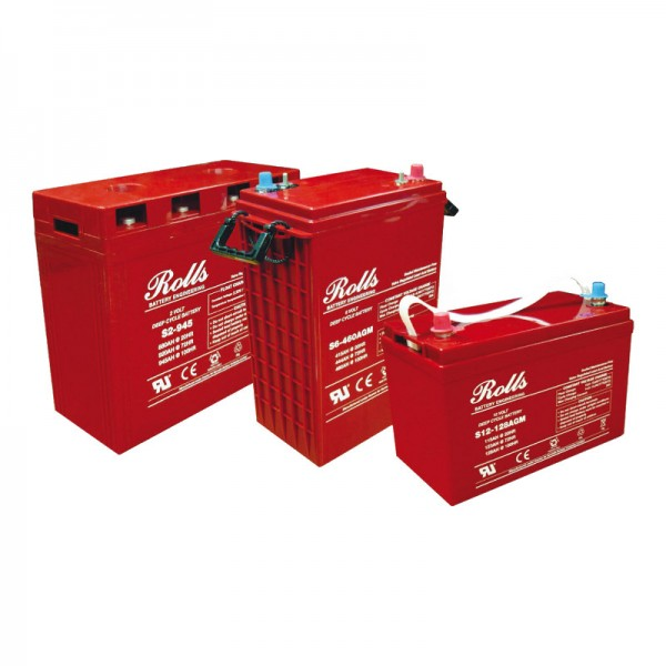 Rolls AGM Batterie S12-116AGM