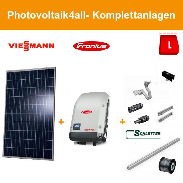 Solarpaket L - 5,3 kWp Viessmann Photovoltaikanlage