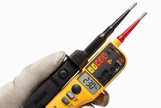 FLUKE-T150 VDE LCD Spannungs- und Durchgangsprüfer