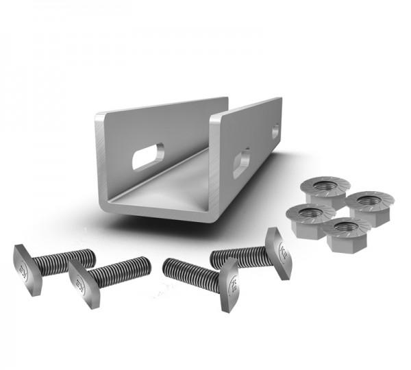 K2 Systems CrossRail Schienenverbinder