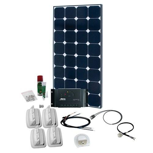 solaranlage f r wohnmobil caravan komplett set 1 i photovoltaik4all. Black Bedroom Furniture Sets. Home Design Ideas