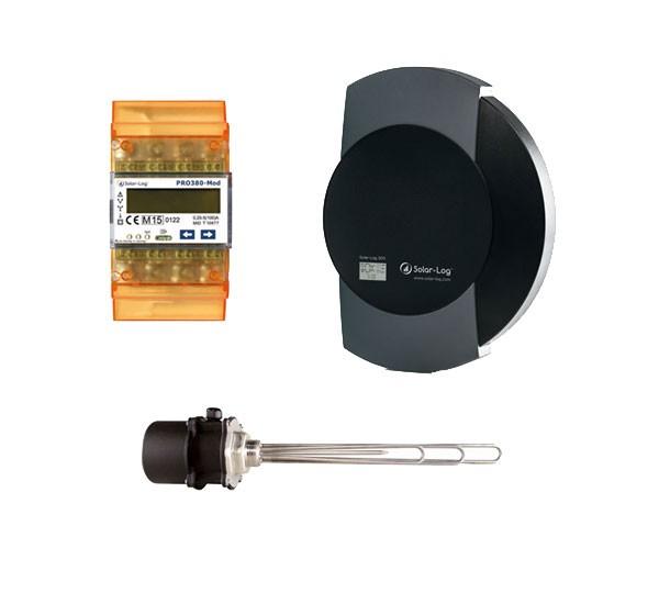 Solar-Log 300 mit EGO Smart Heater
