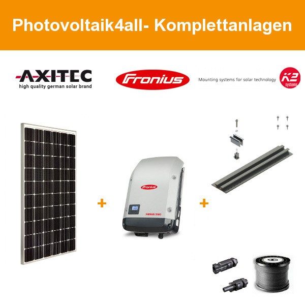 9,900 kWp Axitec AXIpremium AC-300M / Trapezblech