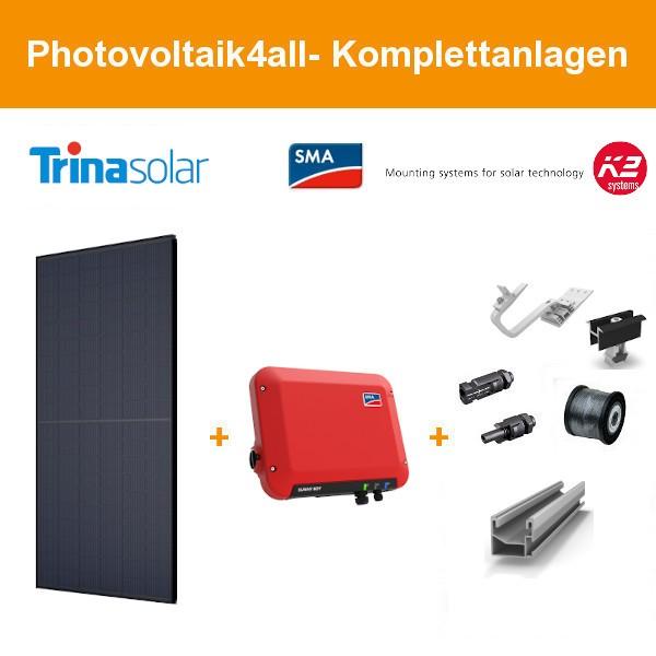 1,320 kWp Trina Solar Honey Black - SMA Photovoltaikanlage