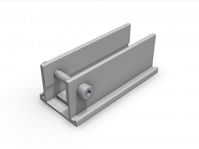 schletter beschlagsatz 07 f r compact vario einfach aufst nderung flachdach montagesysteme. Black Bedroom Furniture Sets. Home Design Ideas