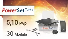 Solar Frontier PowerSet Turbo 5.1 -170-3p