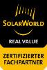 Zertifizierter SolarWorld Installateur