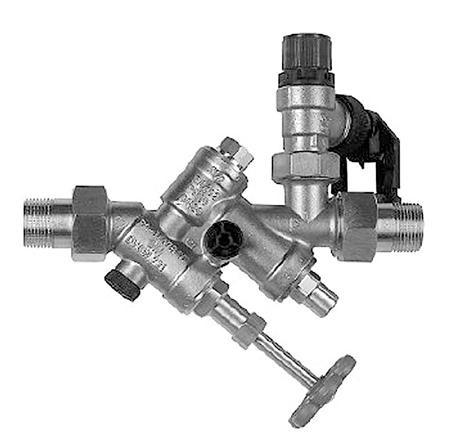 Dimplex Sicherheitsventilkombination Außengewinde 1Zoll, DN20