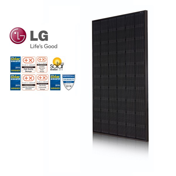 LG Solar LG315N1K-A5 NeON 2 Black Cello