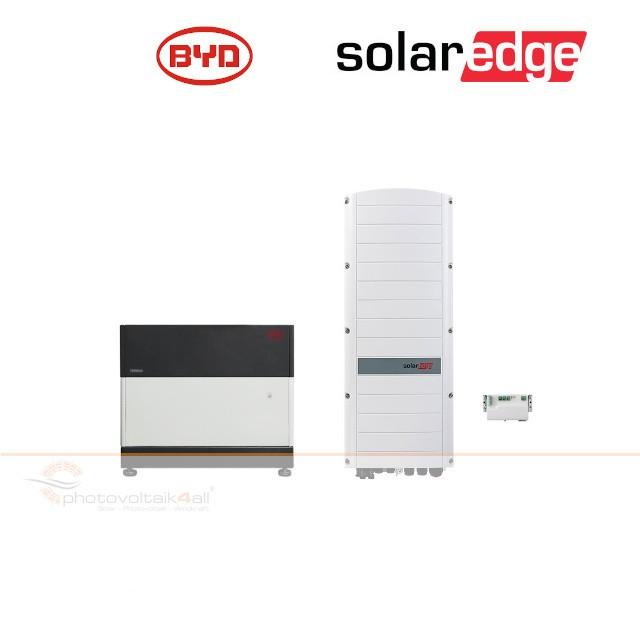 BYD B-BOX PREMIUM LVS 4.0 (4 kWh) + SolarEdge RWS Hybrid 48V